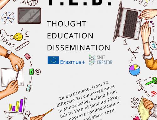 T.E.D – Thought Education Dissemenation